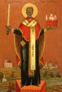 икона Николая Чудотворец