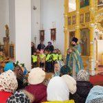 Гости храма 61 детский сад в праздник Покрова Божией Матери 14.10.2019 г.